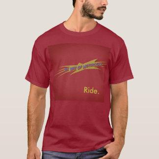 bwom rote Fahrt T-Shirt