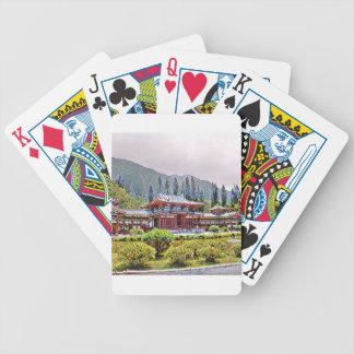Byodo-Im Tempel Oahu Bicycle Spielkarten
