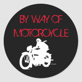 bywayofmotorcycle Aufkleber 1
