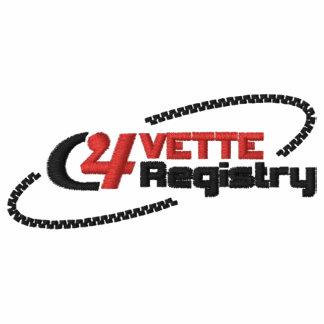 C4VR Logo gesticktes helles Polo-Hemd