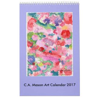 C.A. Kalender der Maurer-Kunst-2017