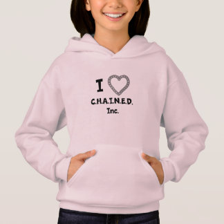C.H.A.I.N.E.D. Inc. Der Hoodie des Mädchens