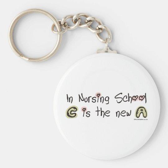 C ist das neue A in der Krankenpflege-Schule Schlüsselanhänger