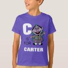 C ist für Zählung von Count, die | Ihren Namen T-Shirt