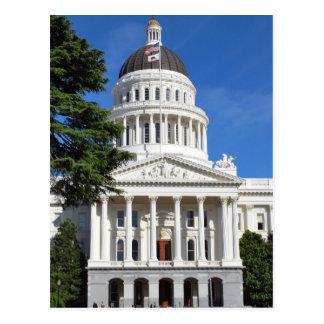 CA-Staats-Hauptstadts-Gebäude - Sacramento Postkarte