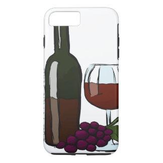 Cabernet-Sauvignon iPhone Fall iPhone 8 Plus/7 Plus Hülle
