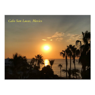 Cabo Sonnenaufgang Postkarte