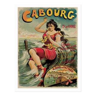 Cabourg Paris Frankreich Vintage Reise Postkarten