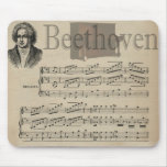 Cadeau classique de musique de Beethoven pour des  Tapis De Souris