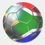 Cadeaux 2010/2011 du football de l'Afrique du Sud Sticker Rond