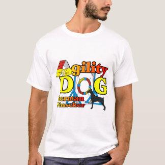 Cadeaux allemands d'agilité de Pinscher T-shirt