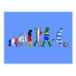 Cadeaux de futboll d'évolution du football du foot