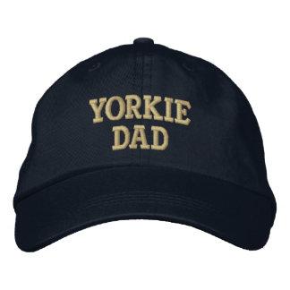 Cadeaux de Yorkshire Terrier de PAPA de Yorkie Casquette De Baseball