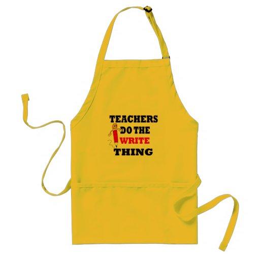Cadeaux drôles de professeur tablier