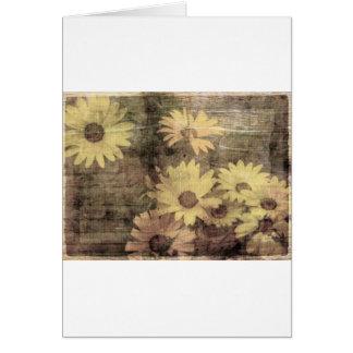 Cadeaux floraux carte de vœux