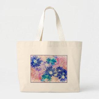 Cadeaux floraux sacs de toile