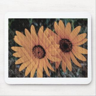 Cadeaux floraux tapis de souris