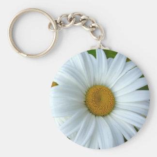 Cadeaux jaunes gais de fleur de porte - clés de ma porte-clé rond