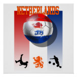 Cadeaux néerlandais du football d'affiche néerland