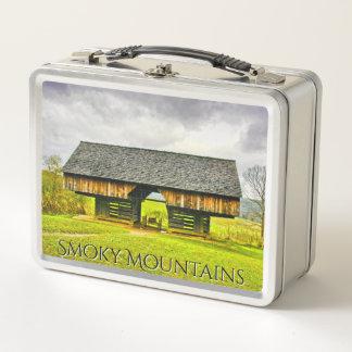 Cades Bucht-historische freitragende Metall Lunch Box