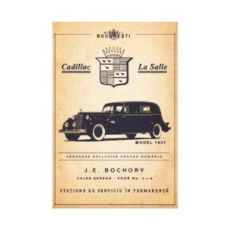 Cadillac La Salle - Vintages Plakat Leinwanddruck