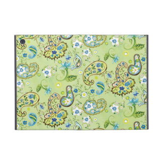 Cadre floral de très bon goût moderne de remous de coque iPad mini