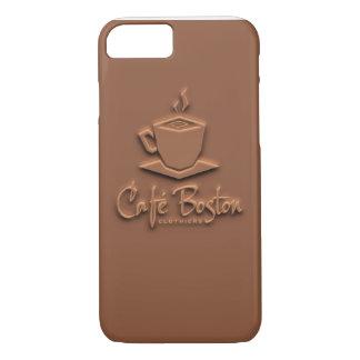 Café Boston Kasten Schokoladen-6/6s iPhone 8/7 Hülle
