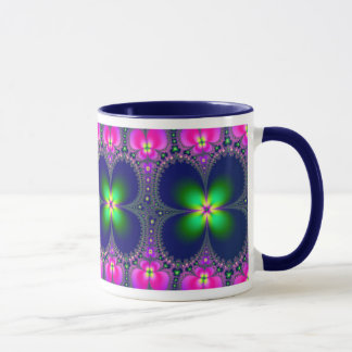 Café de flower power/tasse de thé