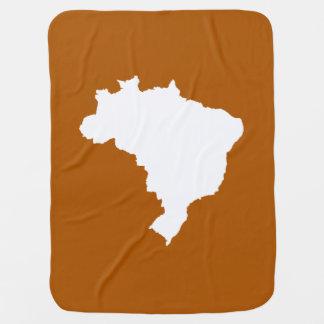 Café Karamell festliches Brasilien bei Emporio Kinderwagendecke