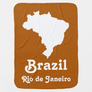 Café Karamell festliches Brasilien mit Babydecke