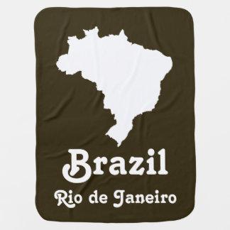 Café Mokka festliches Brasilien mit Kinderwagendecke