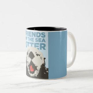 Café-Otter Zweifarbige Tasse