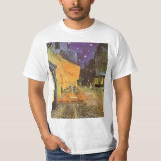 Café-Terrasse nachts durch Vincent van Gogh T-Shirt