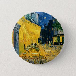 Café-Terrasse Vincent van Goghs |, Place du Forum Runder Button 5,7 Cm