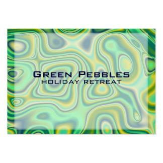 cailloux verts carte de visite grand format