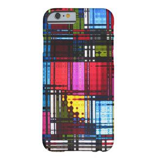 Caisse abstraite colorée de l'iPhone 6 Coque iPhone 6 Barely There