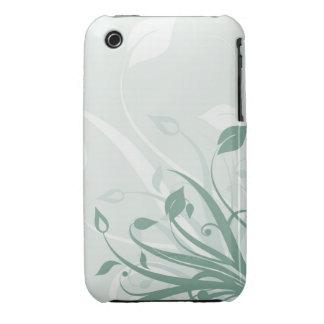 Caisse abstraite de courbe de Blackberry de Coque iPhone 3