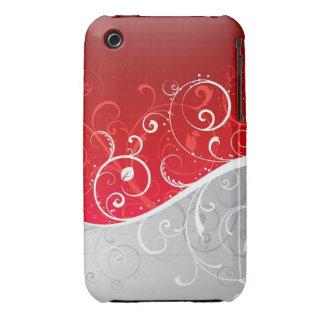 Caisse abstraite de courbe de Blackberry de Coques Case-Mate iPhone 3