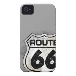 Caisse affligée de Blackberry de l'itinéraire 66 Coques iPhone 4 Case-Mate