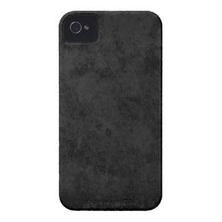 Caisse audacieuse de Blackberry d'ardoise noire Coque Case-Mate iPhone 4