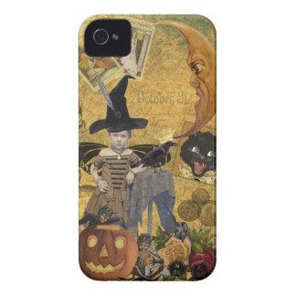 Caisse audacieuse de Blackberry de collage vintage Coque Case-Mate iPhone 4