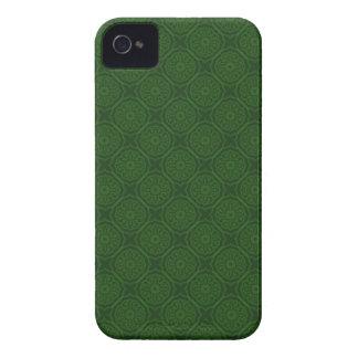 Caisse audacieuse de Blackberry de motif vert Coque iPhone 4