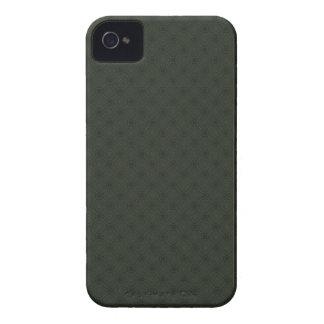 Caisse audacieuse de Blackberry de motif vert Coques iPhone 4