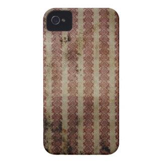 Caisse audacieuse de Blackberry d'impression vinta Coques iPhone 4 Case-Mate