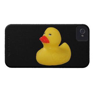Caisse audacieuse de canard de jaune de mûre migno coque iPhone 4 Case-Mate