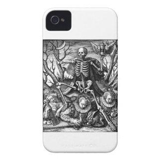 Caisse audacieuse de mûre triomphante de la mort coque iPhone 4 Case-Mate