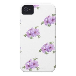 Caisse audacieuse rose vintage de Blackberry Coque iPhone 4 Case-Mate
