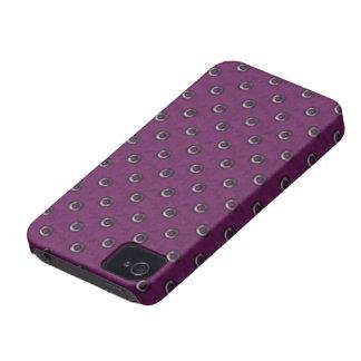 Caisse audacieuse vintage de Blackberry Coque iPhone 4 Case-Mate