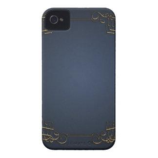 Caisse audacieuse vintage de Blackberry Coques Case-Mate iPhone 4