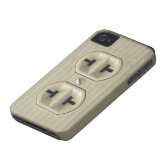 Caisse audacieuse vintage de Blackberry de prise m
